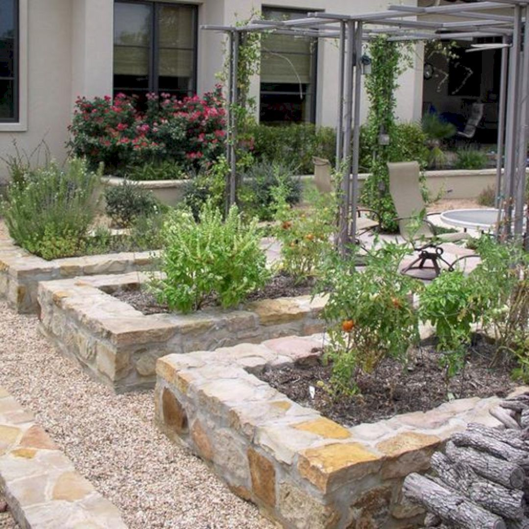 20 Raised Bed Garden Designs And Beautiful Backyard: 24 Gorgeous DIY Raised Garden Bed Ideas To Build A