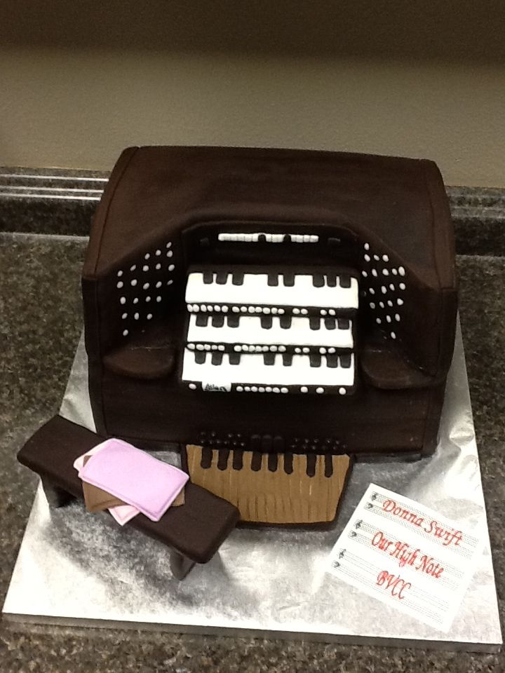 Church Organ Cake Tiffany S For All Occasions Cake