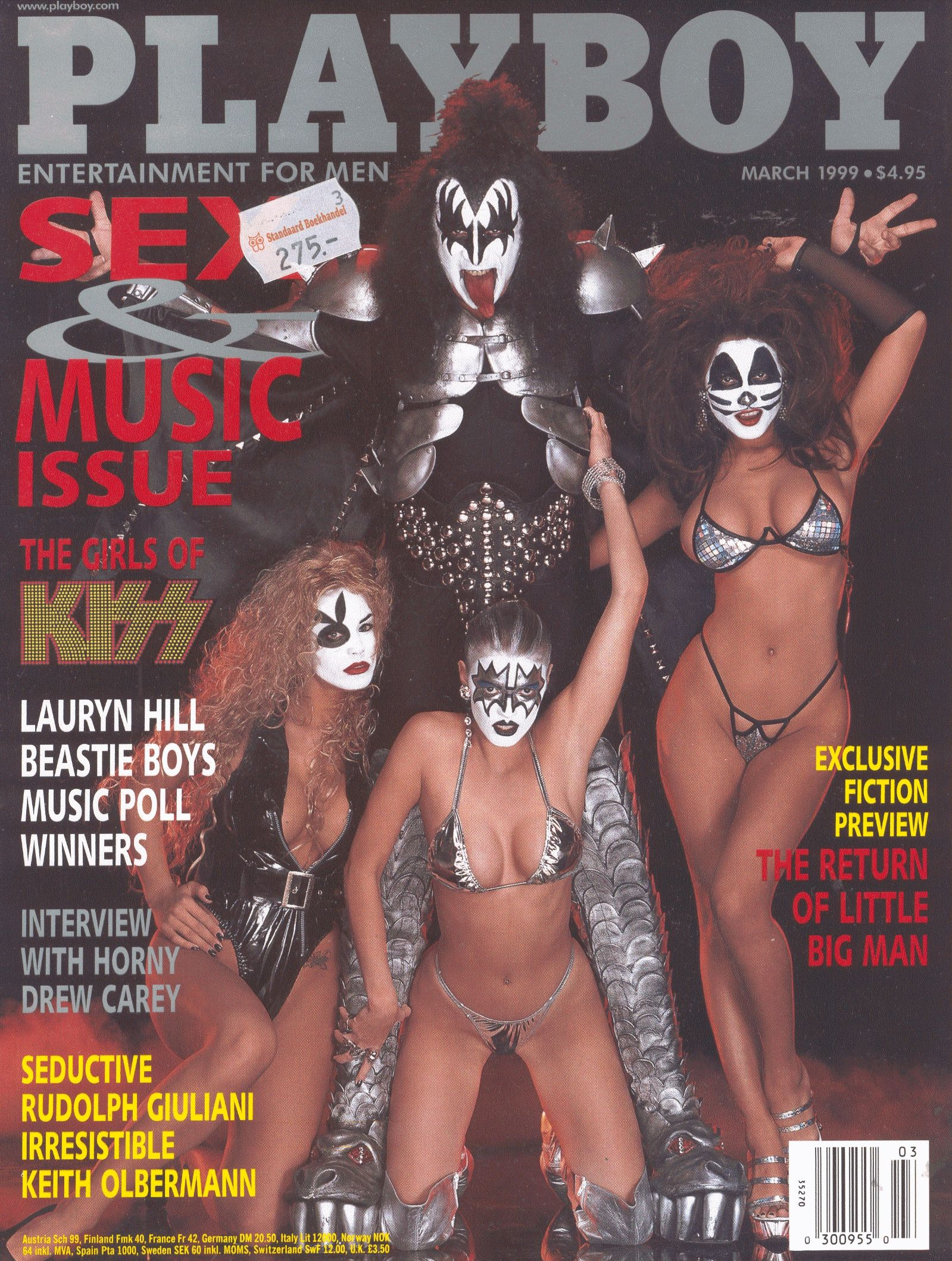 Gene Simmons Nude playboy cover (gene simmons, kiss) in 2019 | playboy, kiss