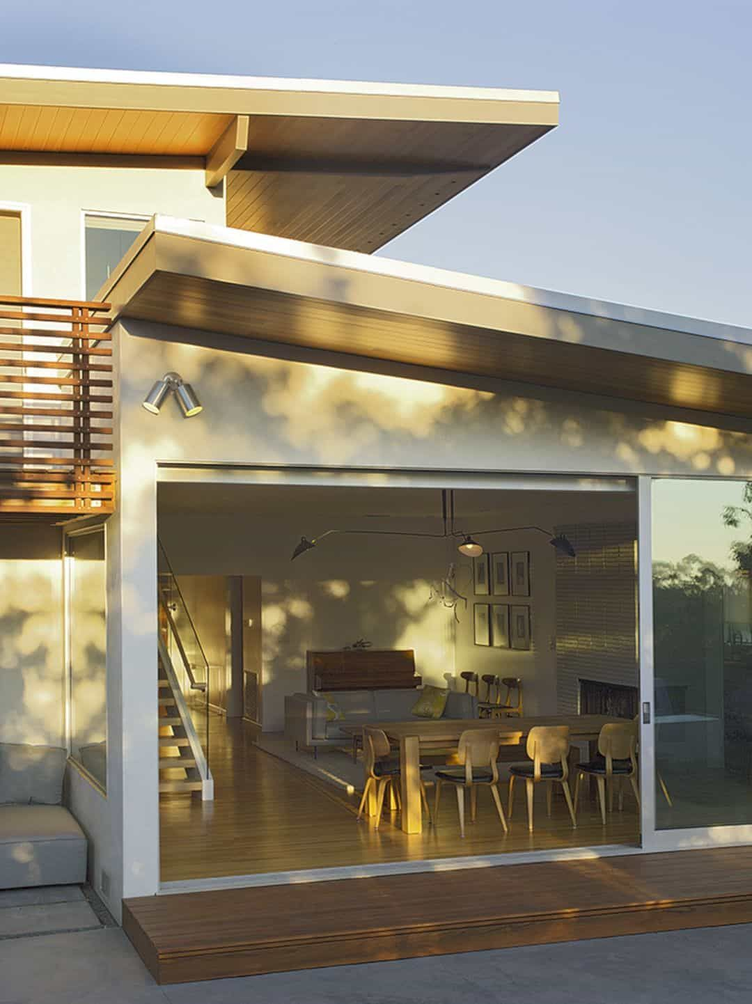 Bronwood House: A Mid-Century Modern Home with A Partial ...