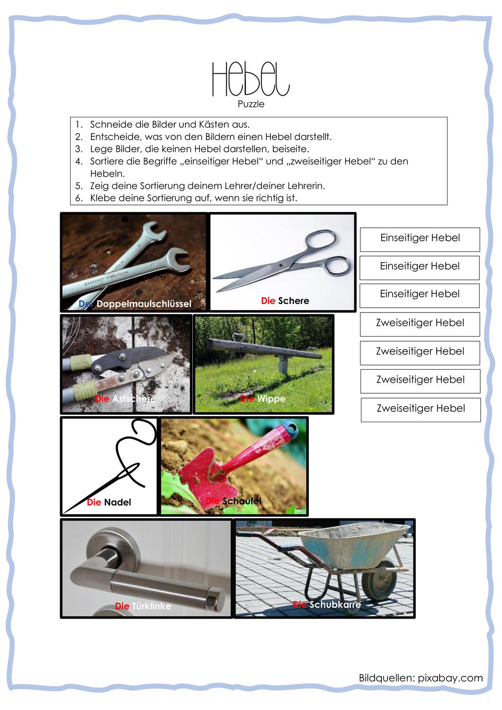 Zweiseitiger Hebel Physik Online Kurse 2