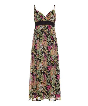 Iska: Tropical Print Maxi Dress by Iska on #zulilyUK today!