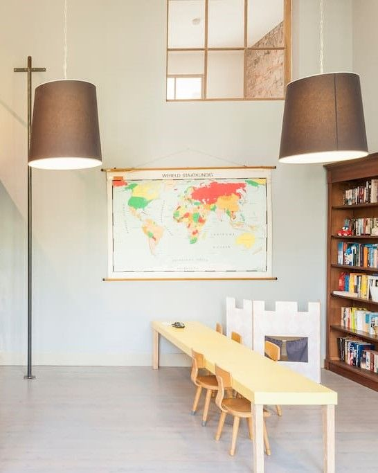 House Tour: Converted Schoolhouse A converted schoolhouse Airbnb rental in the…