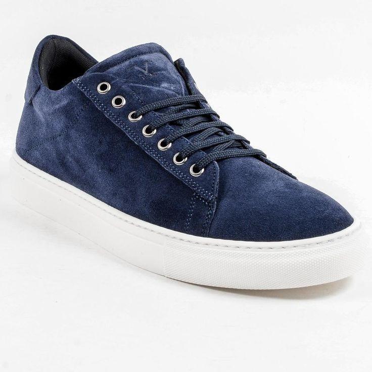 V 1969 Italia Mens Dark Blue Crema Sneaker in 2019 ...