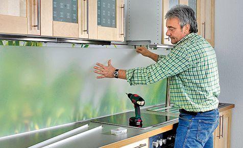 fliesenspiegel ohne fliesen k chen pinterest fliesenspiegel k chenr ckwand und k chenm bel. Black Bedroom Furniture Sets. Home Design Ideas