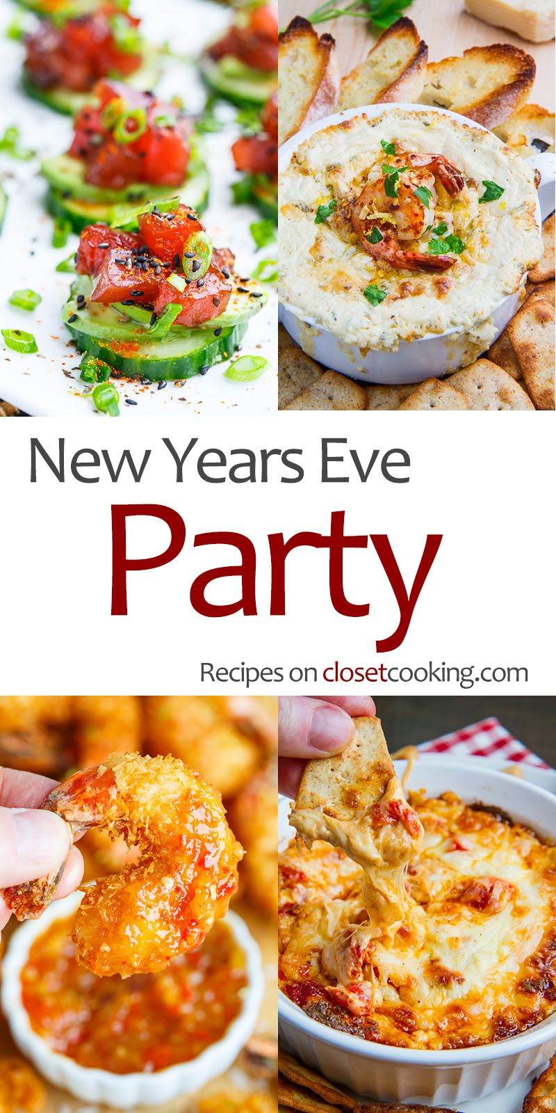 New Years Eve Party Recipes Appetizers Pinterest Appetizers