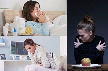 resfriados y problemas digestivos