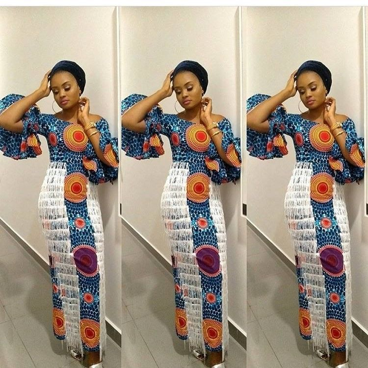 There are a number of ways to make oneself look fabulous with an aso ebi styleNigerian Yoruba dress styles , Even if you are reasoning on what to create and slay with an Nigerian Yoruba dress styles. Asoebi style for weekends come in a lot of patterns and designs.   The Ankara designs beauty of this print is that it comes in many designs and textures. Ankara will allow you create a correspond of any cloth without losing the Ankara dress styles flair. #nigeriandressstyles There are a number of wa #nigeriandressstyles