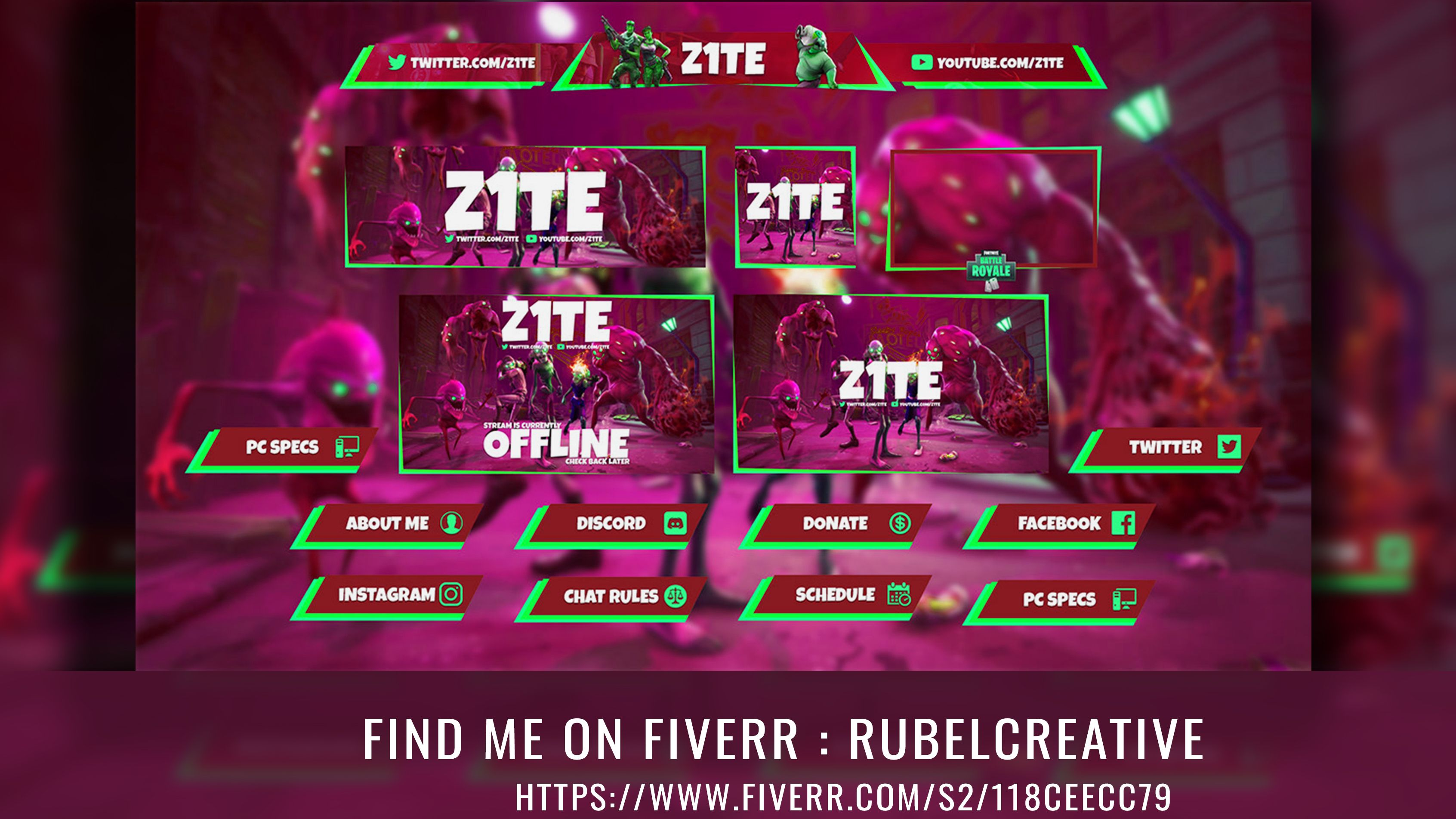 Design twitch overlay for your stream platform in 2020