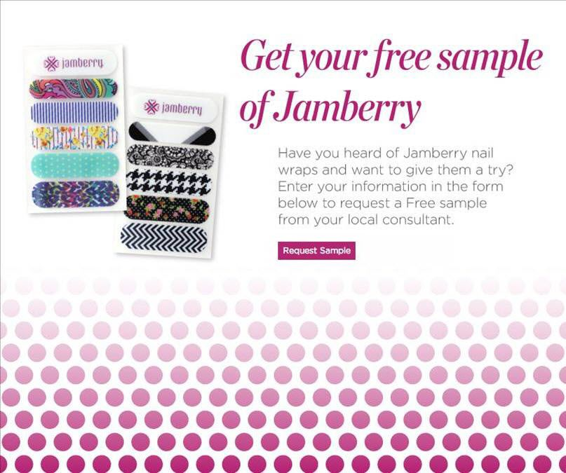 FREE Jamberry Sample! Request Your Free Sample today at   - sample request forms