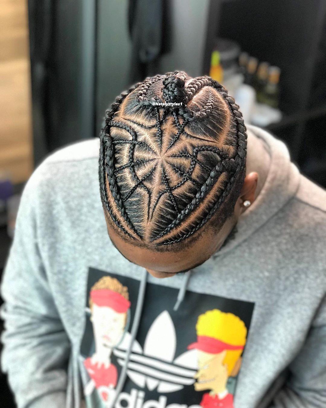 Cornrows Cheveux Afro Homme Types De Coiffures Tresses Homme