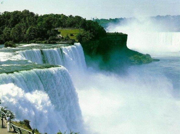 صور طبيعة جميلة صور طبيعيه Niagara Falls Hotels Beautiful Waterfalls Waterfall Wallpaper