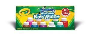 Crayola Washable Kids Paint set of 10 Bottles (2 fl oz/59mL)