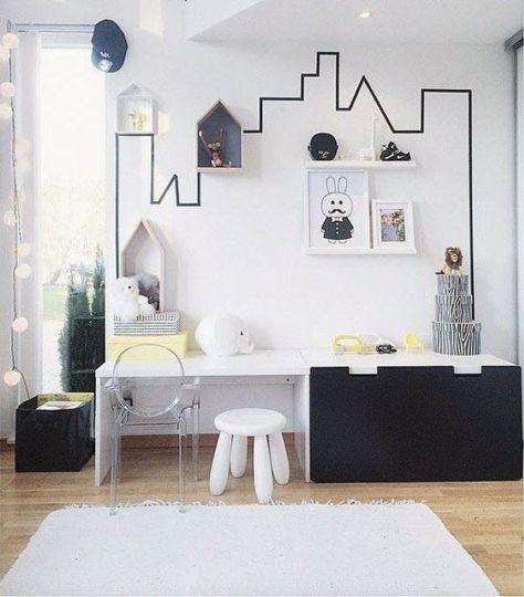 bureau enfant avec meuble stuva Meuble rangement enfant