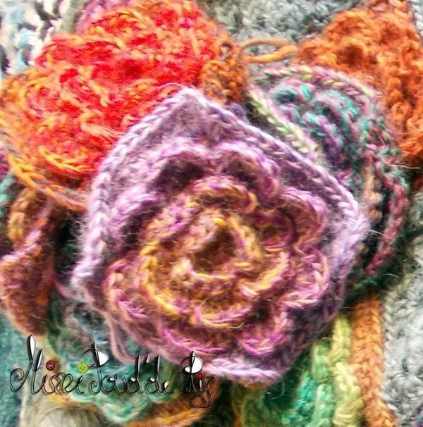 Tuto Granny Fleur Pour Le Manteau Petites Choses A Crocheter Ou A