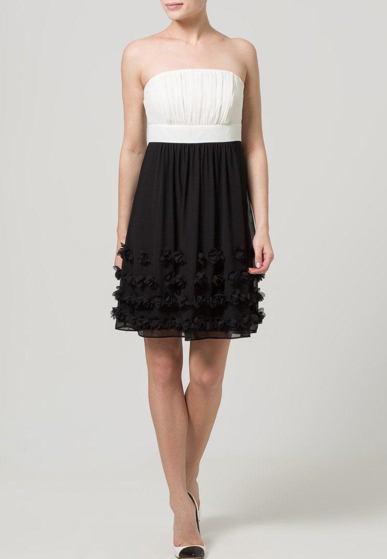 ESPRIT Collection - Cocktailkleid / festliches Kleid - black/offwhite