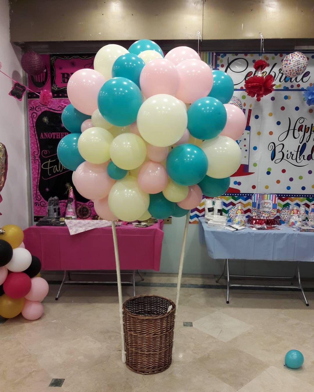 Pin On Balloons Decoration تزين بالونات