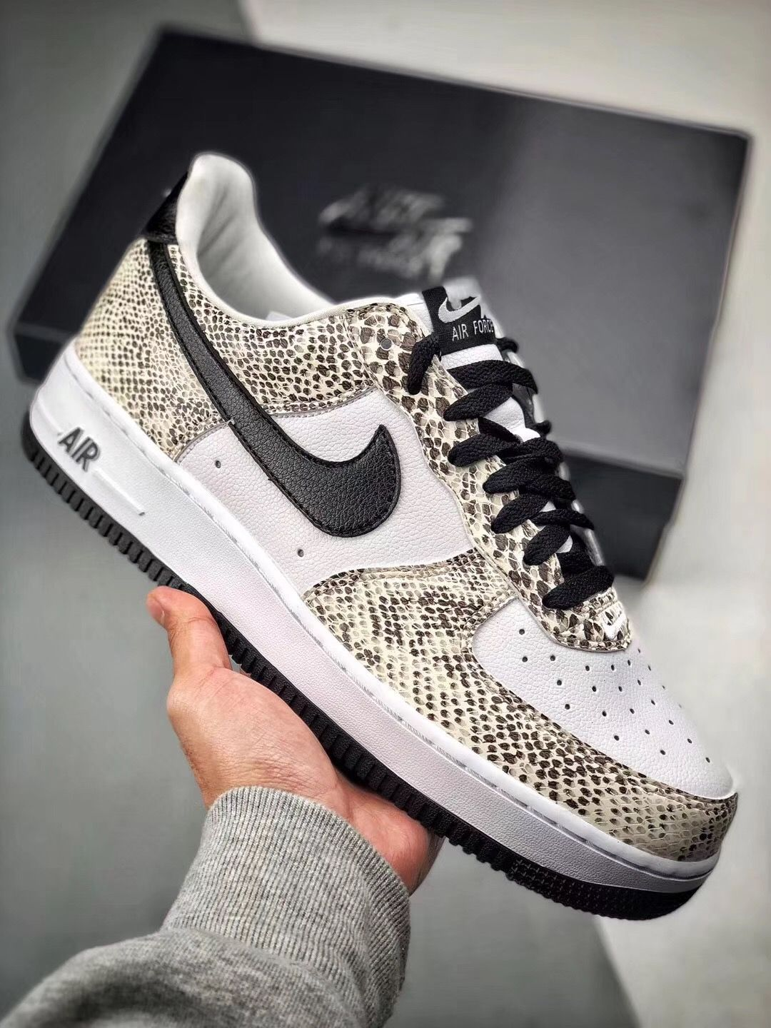 finest selection 4188f 5ae81 Nike Air Force 1 Cocoa Snake AF1 845053-104