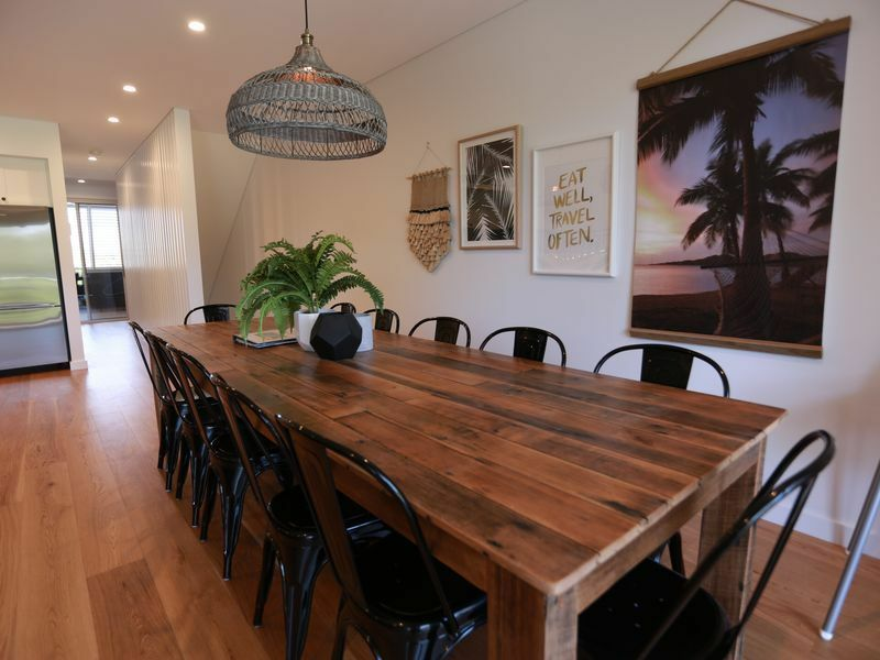 3 Metre Long 12 Seater Recycled Timber Hard Wood Dining Table
