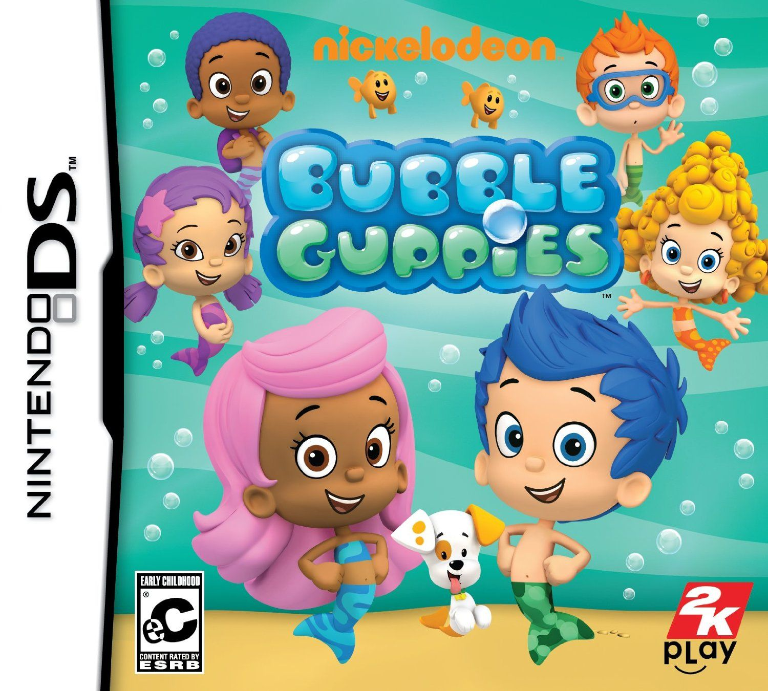 nickelodeon bubble guppies nintendo ds your child will make a