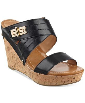 40f969054db2 Tommy Hilfiger Mili2 Wedge Sandals
