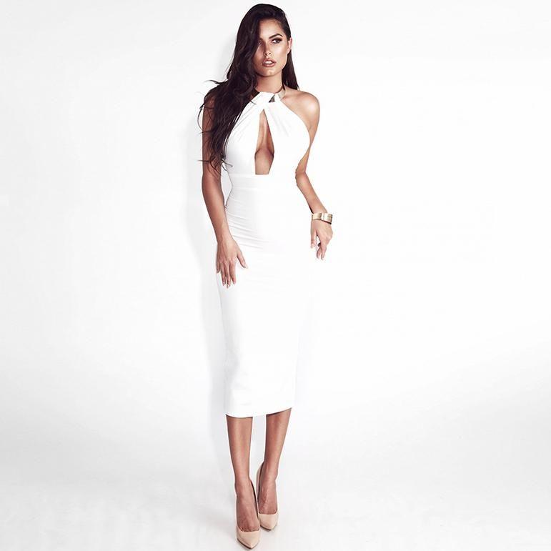 Off Shoulder Party Backless Dress #shortbacklessdress
