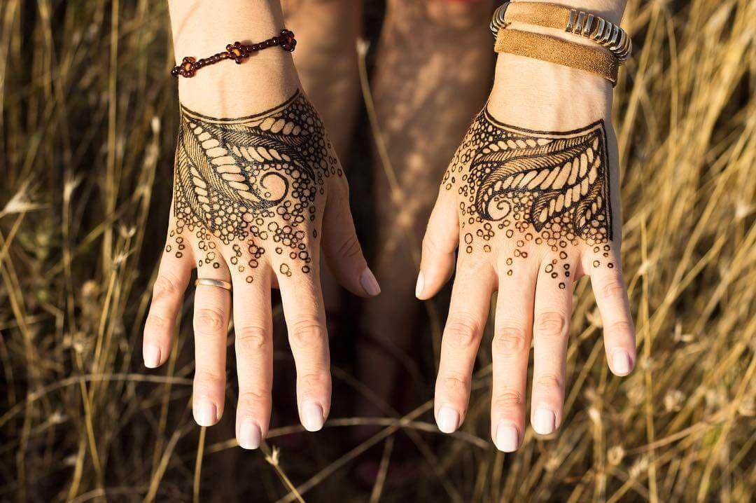 Faded mehndi design for hands byrabbyy_mehndi mehndi
