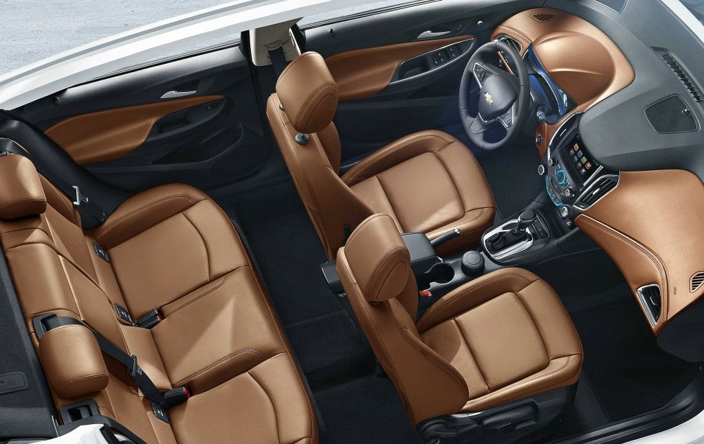 2015 chevrolet cruze interior chevrolet china shows off official