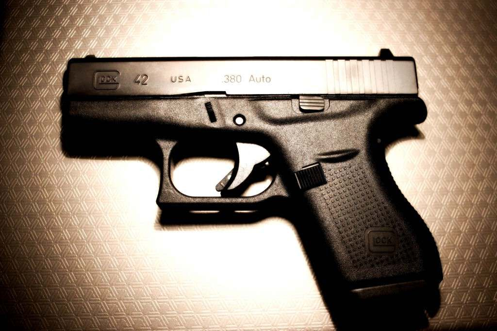 Glock 42 .380 Auto, of all the pocket guns out there, this is the best. Sweetest shooter, and weighs nothing