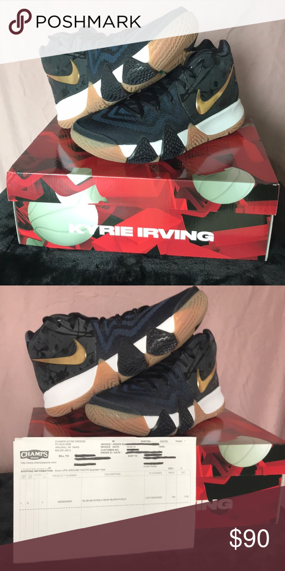 brand new 7c6eb 39f04 Nike Kyrie 4, New in Box, sz 9.5 US Brand New, Never Worn in ...