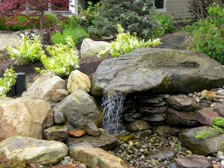 Diy Backyard Ideas Inspiring And Simple Water Fountain Designs Water Features In The Garden Water Fountain Design Diy Water Fountain