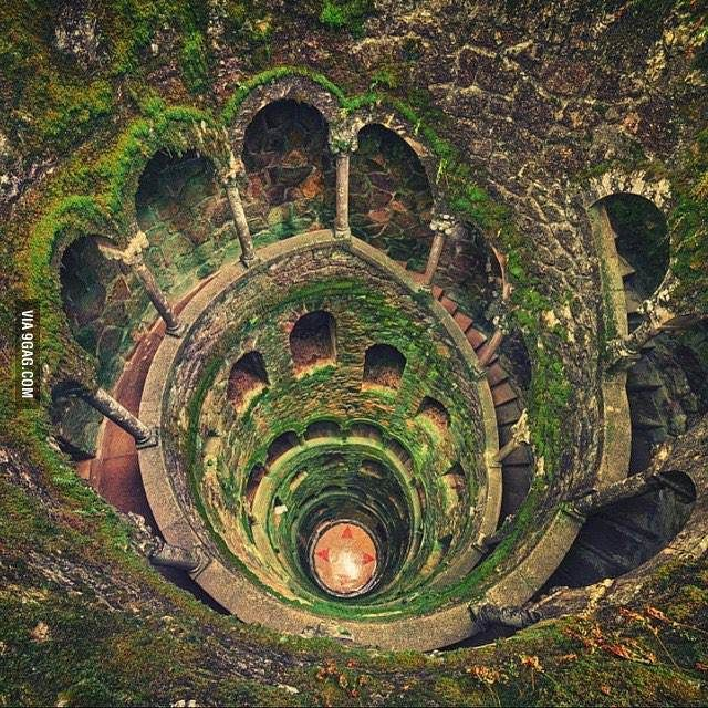 The Initiation Well In Sintra, Portugal In 2020