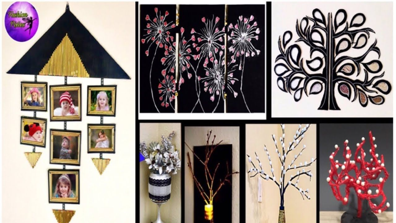 7 Waste Material Crafts Ideas Room Decor Do It Yourself Fashion Pixies Youtube Craft From Waste Material Diy Crafts For Adults Wall Decor Crafts