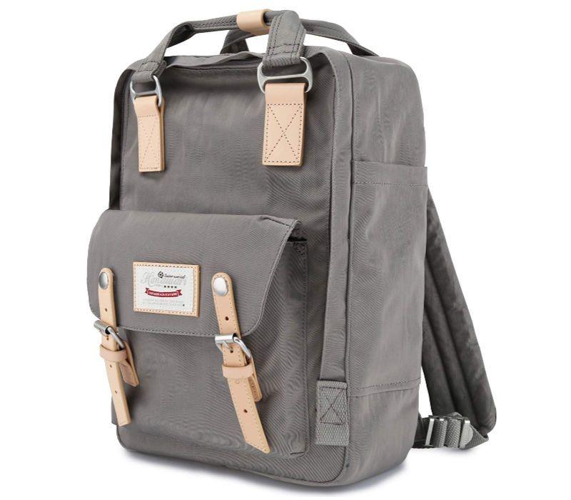 FANDARE Large Backpack Business Commuter Backpack for 15.6 inch Laptop Handbag Travel Daypacks for Men College School Bookbag Outdoor Travel Hiking Rucksack Gray