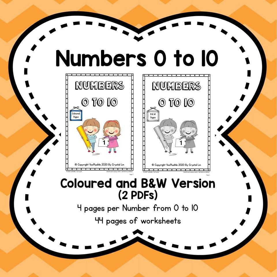 Numbers 0 To 10 Worksheet Learning Numbers Worksheets Singapore Math