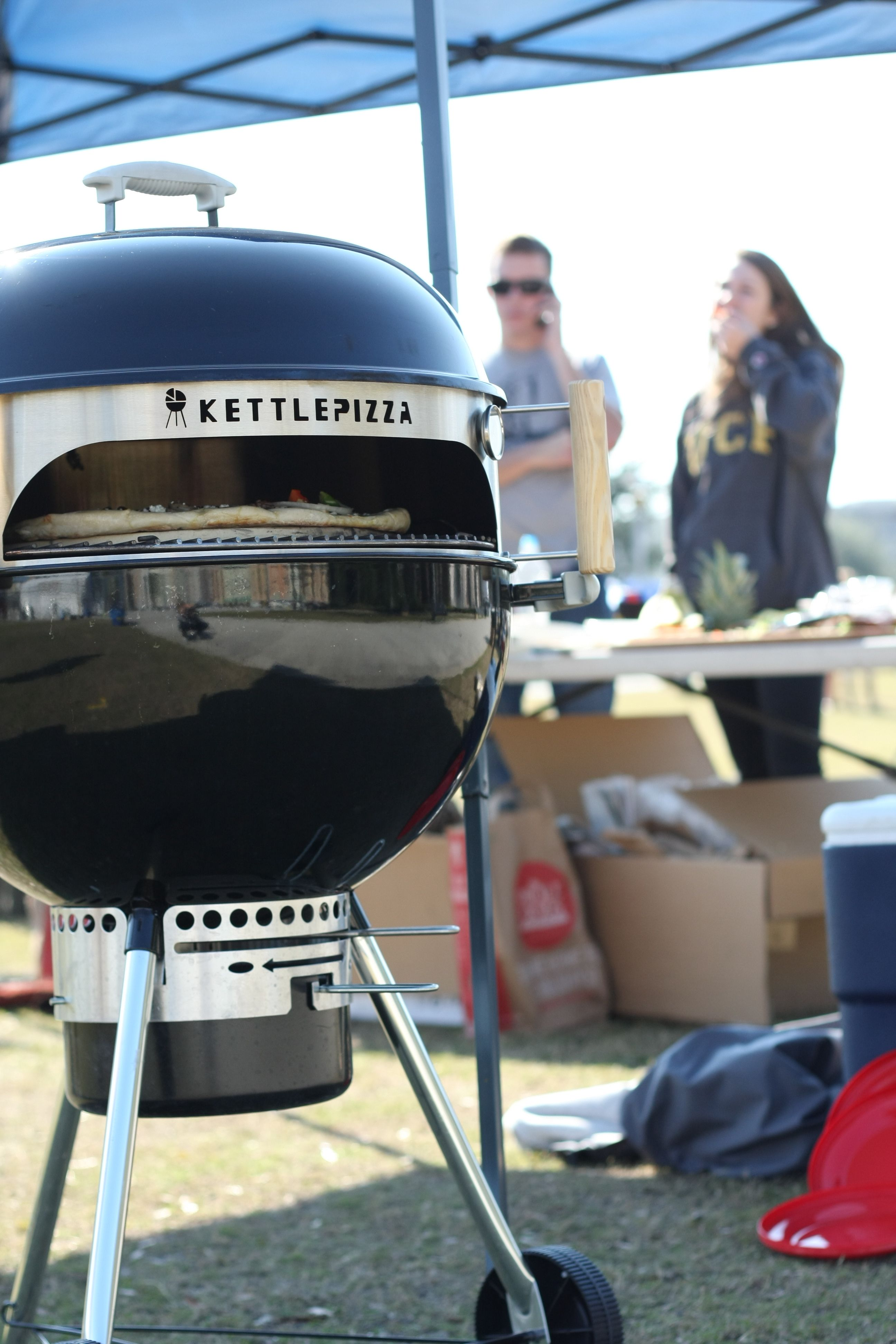 Enter This Contest To Win A Kettlepizza Basic Pizza Oven