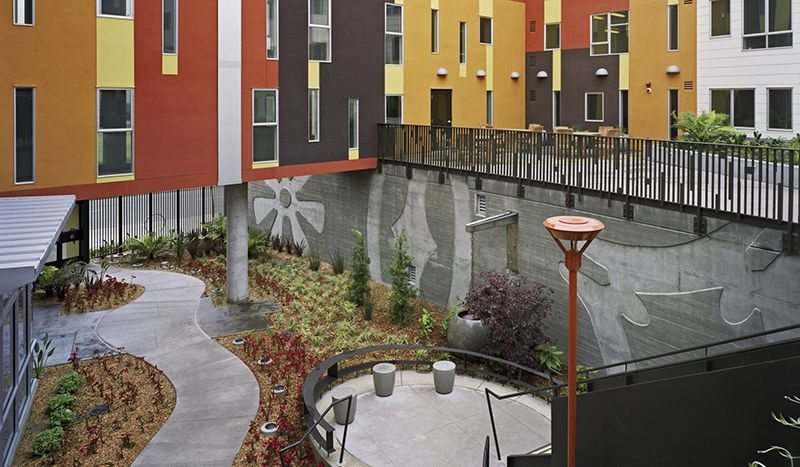 11 Strategies For Building Community With Affordable Housing Urban Land Magazine Affordable Housing Social Housing Landscape Design Plans