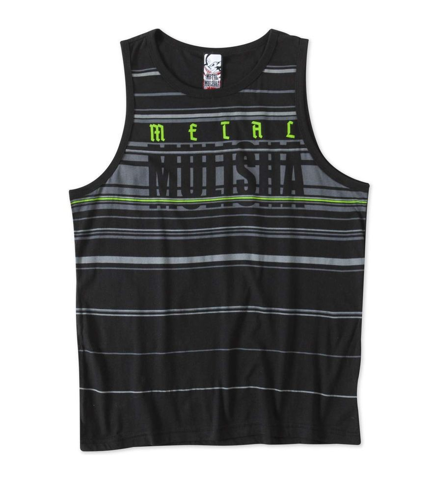 Metal Mulisha REDLINE TANK Top Sleeveless 100% Cotton Dyed Knit Tank #MetalMulisha #ShirtsTops