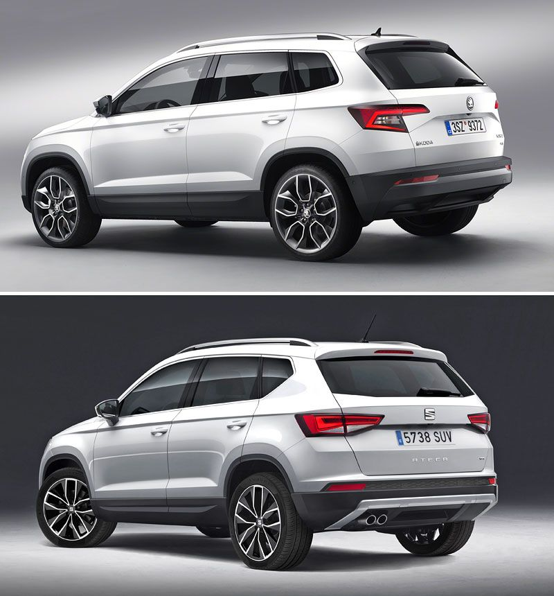 Skoda Karoq Vs Seat Ateca Cars Car Bike