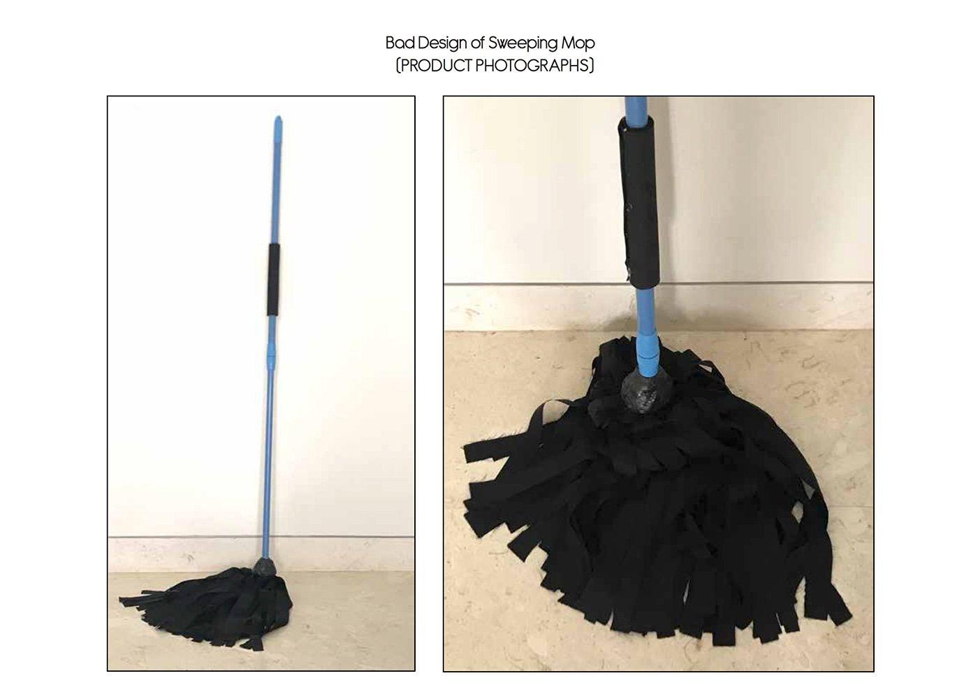 Bad Design - concept for Sweeping Mop | LoneTex Brochure