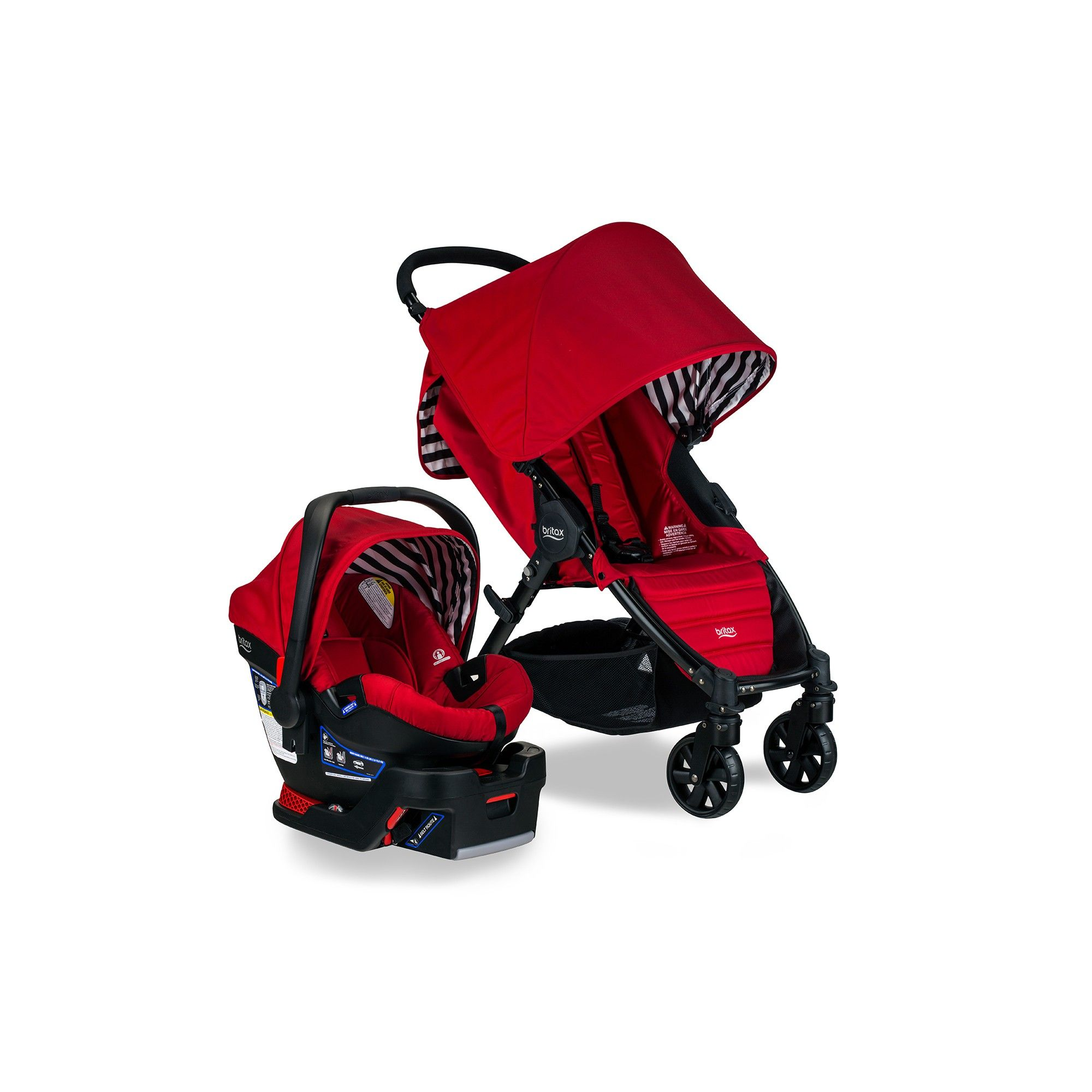 Britax Pathway And BSafe 35 Travel System Cabana