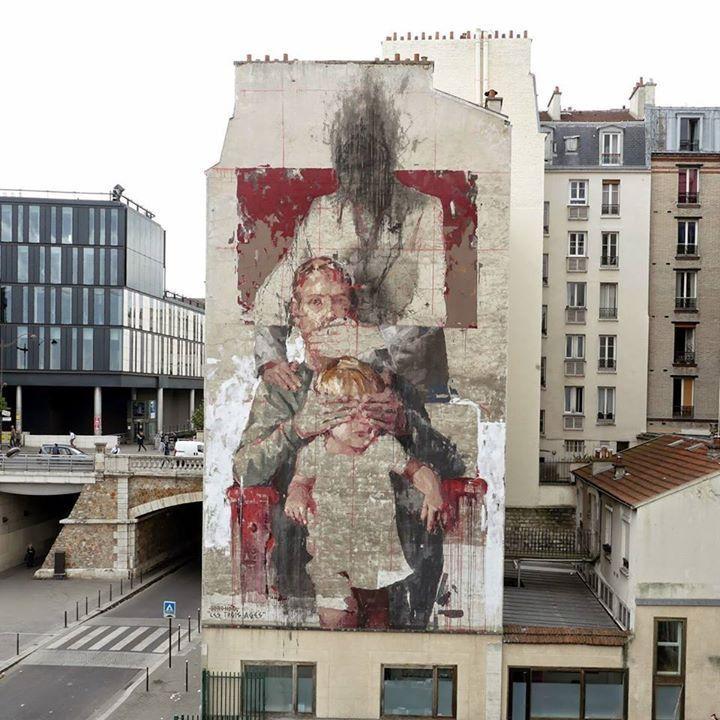 Borondo, Paris