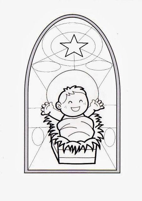 Vitral niño jesus | El TodoPoderoso | Pinterest | Catecismo, Dibujos ...