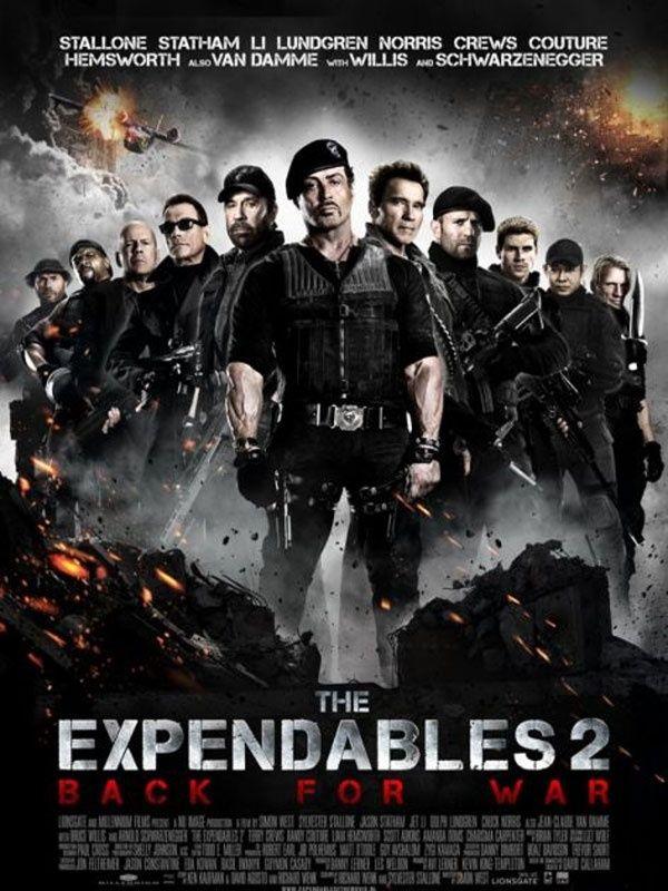 Resultado De Imagem Para Poster De Filmes Mercenarios 2 Filmes Filmes Epicos