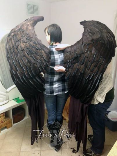 Back Of The Wings Cosplay In 2019 Maleficent Costume