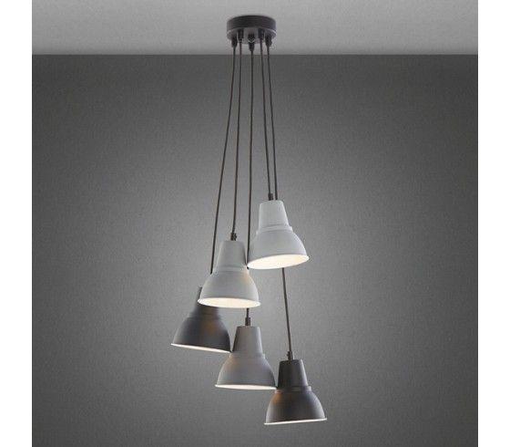 h ngeleuchte 5 lampen eisen bei m max g nstig online bestellen leuchten pinterest m max. Black Bedroom Furniture Sets. Home Design Ideas