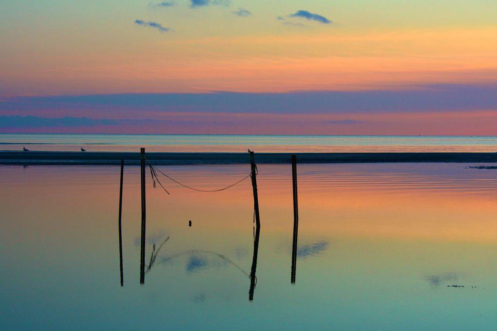 Sunset Harvey Beach Old Saybrook CT