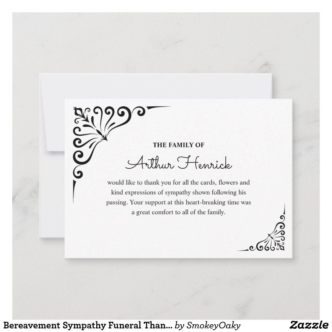 pinfadzy on funeral thank you cards