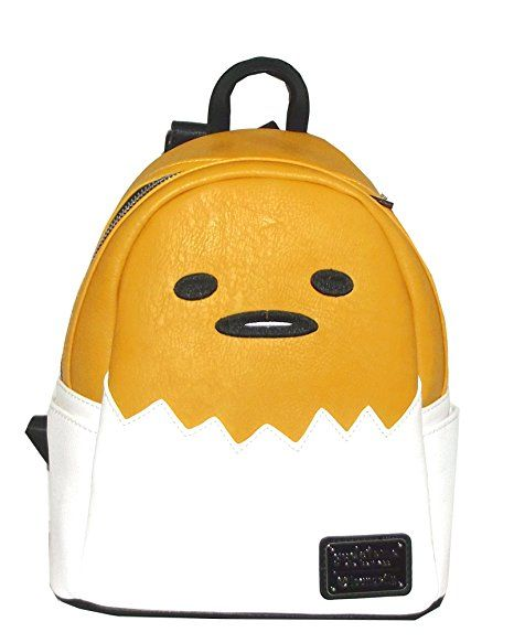913640aaf0af Loungefly Gudetama Eggshell Pop Up Faux Leather Backpack