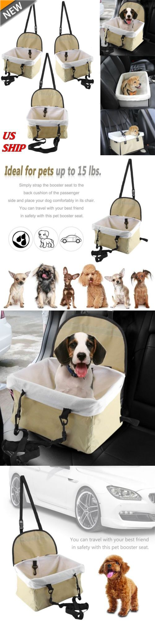 Car seats and barriers car seat for dog pet cat booster seat